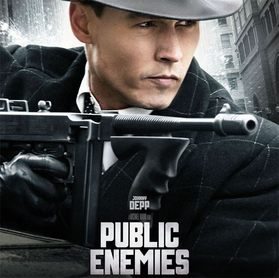 johnny depp public enemies poster. Favorite Movies